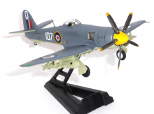 Hawker Sea Fury Royal Navy HMS Vengeance 1949  Model Scale 1:200 WTW72-025-03 E